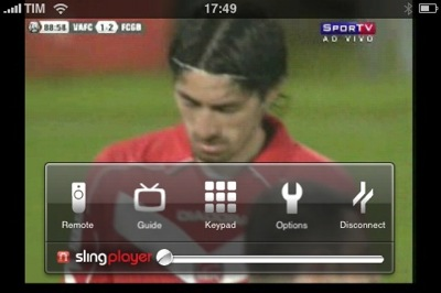 SlingPlayer para o iPhone