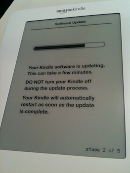 Upgrade no Kindle